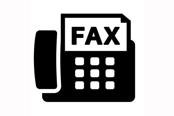 FAX…お返事できません。