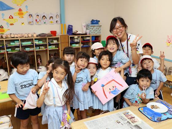 ときわ幼稚園 笑顔がステキで楽しいあなたを求めています
