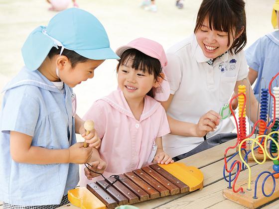 国風第一幼稚園 子どもたちの笑顔が私たちの宝物です!