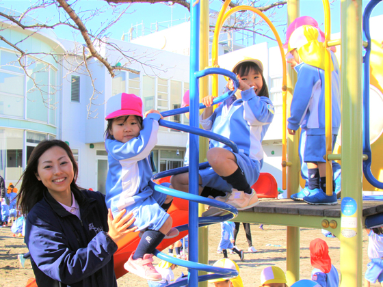 学校法人美和学園 美和幼稚園 子ども達の将来への可能性を伸ばすお仕事です!