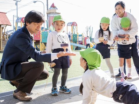 認定こども園はらのこ 原幼稚園 園長先生・採用担当からのメッセージ